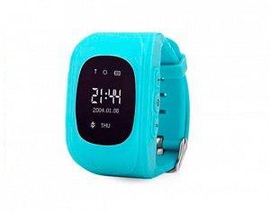 Умные часы детские Q50 голубые