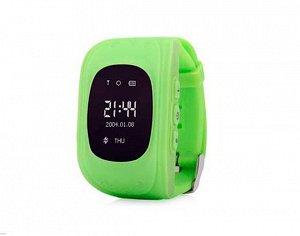 Умные часы детские Q50 зеленый