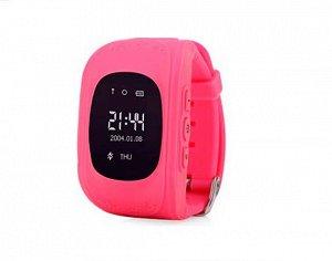 Умные часы детские Q50 розовые