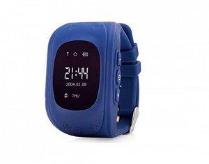 Умные часы детские Q50 синие