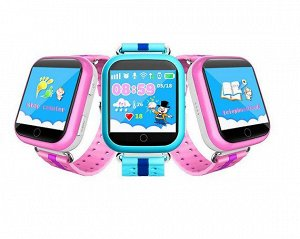 Умные часы детские Q750 синие
