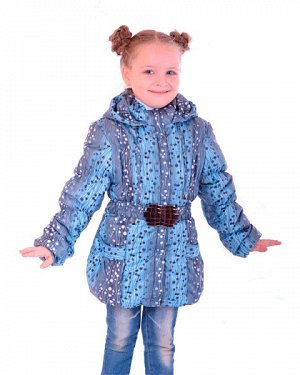 Демисезонная куртка для девочки, р.158, б/у