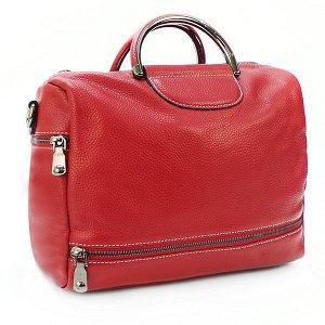 СКИДКА. Женская сумка Borgo Antico. Кожа. 66609 wine red