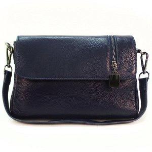 Женская сумка Borgo Antico. Кожа. K 202 royal blue