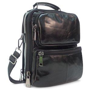Мужская сумка Borgo Antico. Кожа. 20859/4730 black