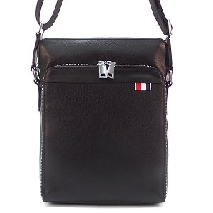 Мужская сумка Borgo Antico. Кожа. 9999 black