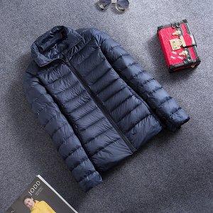 Ультралегкая женская куртка, цвет темно-синий нави