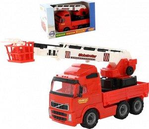 Автомобиль пожарный  VOLVO ,кор. 54 см