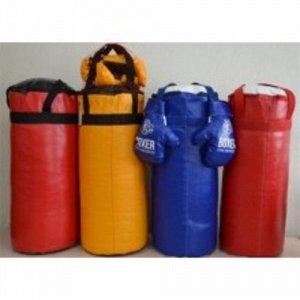 Боксерский набор №4 (груша+перчатки) 60 см.сетка