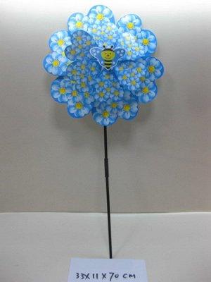 Вертушка двойная с пчелкой , 33*11*70 см.