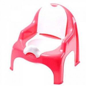 Детский горшок-кресло красный  Dunya Plastik