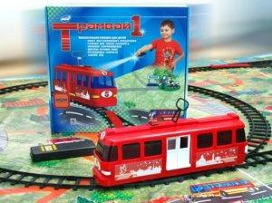 """Игра """"Трамвай-1"""", кор.32*30 см"""