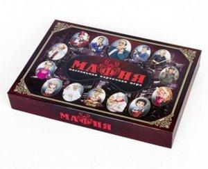 """Игра настольная карточная """"Мафия"""" (с масками) 30*21*4,2 см."""
