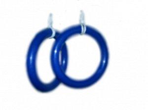 Кольца гимнастический IDEAL,цветные до 60кг