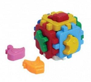 """Куб """"Умный малыш"""" Домашние животные, 8,5см."""