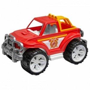 Машина Внедорожник Пожарная с колесом 35см