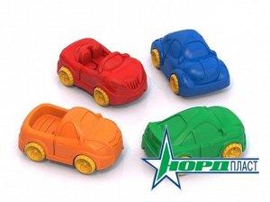 """Машинки """"Ашки Мини"""" 4 шт., в ассорт.7,5см"""