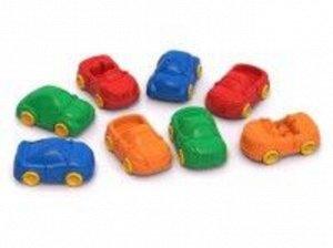 """Машинки """"Ашки Мини"""" в ассорт.8 шт, сетка 7,5см"""