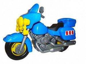 """Мотоцикл полиц.""""Харлей"""", пакет (12)  27см"""