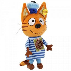 "Мягк. игрушка ""Мульти-Пульти"" Три кота. Коржик ,18 см.,озвуч.,пак."