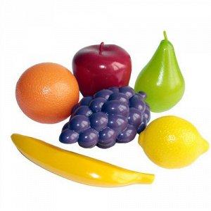 """Набор """"Фрукты"""" (виноград, лимон, банан,апельсин,груша,яблоко), сетка"""