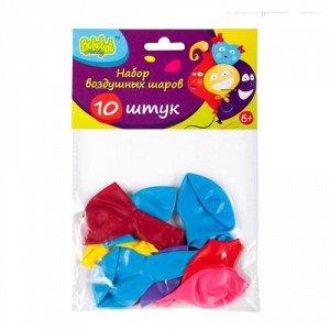 Набор воздушных шариков  Bebelot Holiday (10 шт.,25 см.разноцв.), пакет