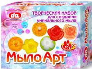 Набор Мыло Арт Цветы, кор. 25*20*7 см