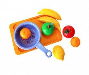 """Набор фруктов """"Витаминчик"""", сетка на подносе 25*10*15см"""