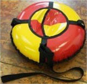 Санки-ватрушка  надувные (тюбинг) d-140  см.  до 120 кг. *