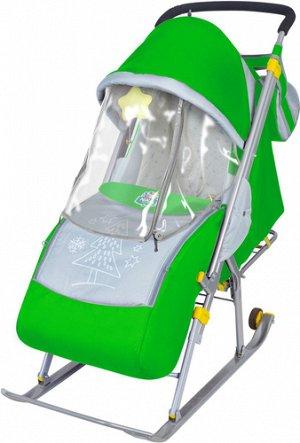 Санки-коляска для детей, Ника Детям-4, цвет в ассорт.*