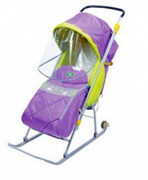 Санки-коляска для детей, Тимка Люкс, цвет в ассорт. *