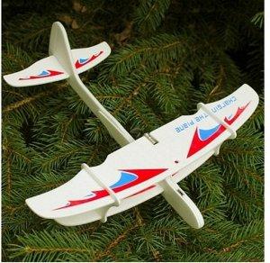Самолет-планер с моторчиком. 30*9см