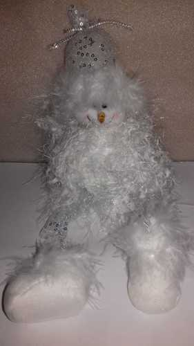 Снеговичок декоративный 17см *