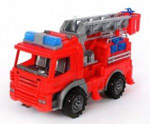 Спецтехника Пожарная машина 42см  тм Нордпласт