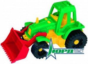 """Трактор """"Ижора"""" с грейдером,20 см  тм Нордпласт"""
