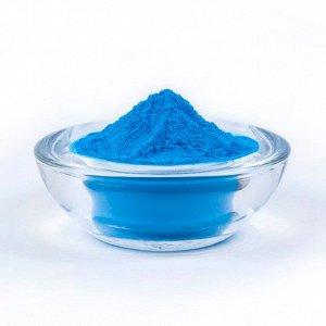 720-07 Краска Холи, синий, 100 г