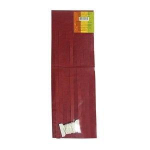 Гирлянда Тассел красная 3 м 16 листов
