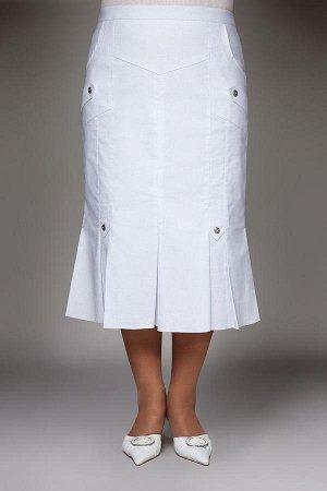 Юбка Юбка текстильная. Длина:75см Модель:юбка текстильная клешеного силуэта. Декор: .вставки из ткани и пуговицы Особенности конструкции: прямой пояс ,подкладка,застежка молния. Ткань:текстиль бенгали