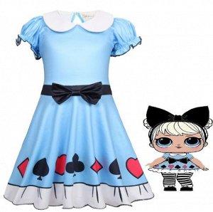 Платье LOL Алиса в стране чудес.