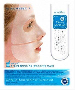 АКЦИЯ - 60%  GENIC Гидрогелевая маска PURE TREE 28гр Peptide Firming (упругость и увлажн.)/40шт/320/