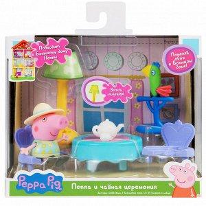 Свинка Пеппа. Пеппа и чайная церемония игр.наб.TM Peppa Pig