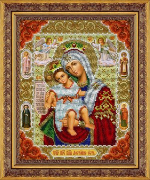 Набор (вышивка бисером) Пр.Богородица Достойно Есть