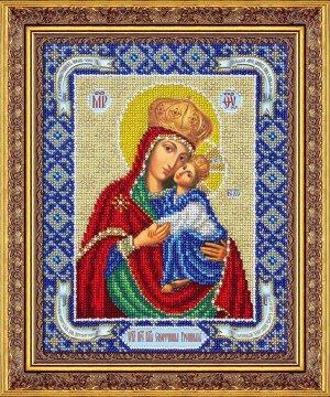 Набор (вышивка бисером) Пр.Богородица Споручница грешных