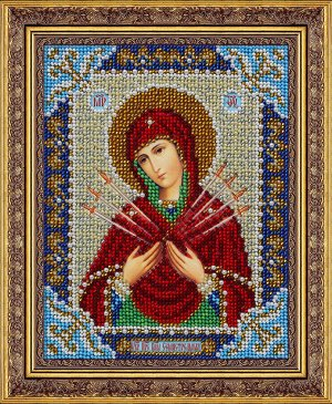 Набор (вышивка бисером) Пр.Богородица Семистрельная