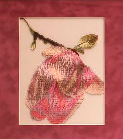 Рисунок на ткани СЛАВЯНОЧКА арт. КС-034 Триптих Магнолия 23х23 см