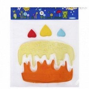 """Наклейка Altacto creative """"Праздничный торт"""",пакет.*"""