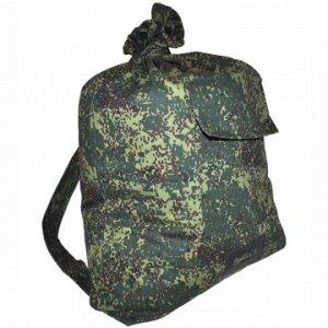 Мешок вещевой солдатский (палаточная ткань) HS-РК-7 зел цифра