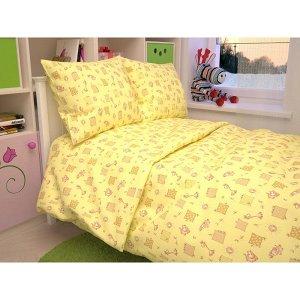 Детский комплект в кроватку Жирафики, цвет желтый 366-4