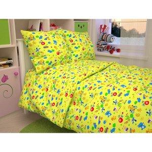 Детский комплект в кроватку Зоопарк, цвет желтый В 42-1