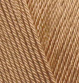Пряжа для вязания Ализе Diva (100% микрофибра) 5х100г/350м цв.369 карамель
